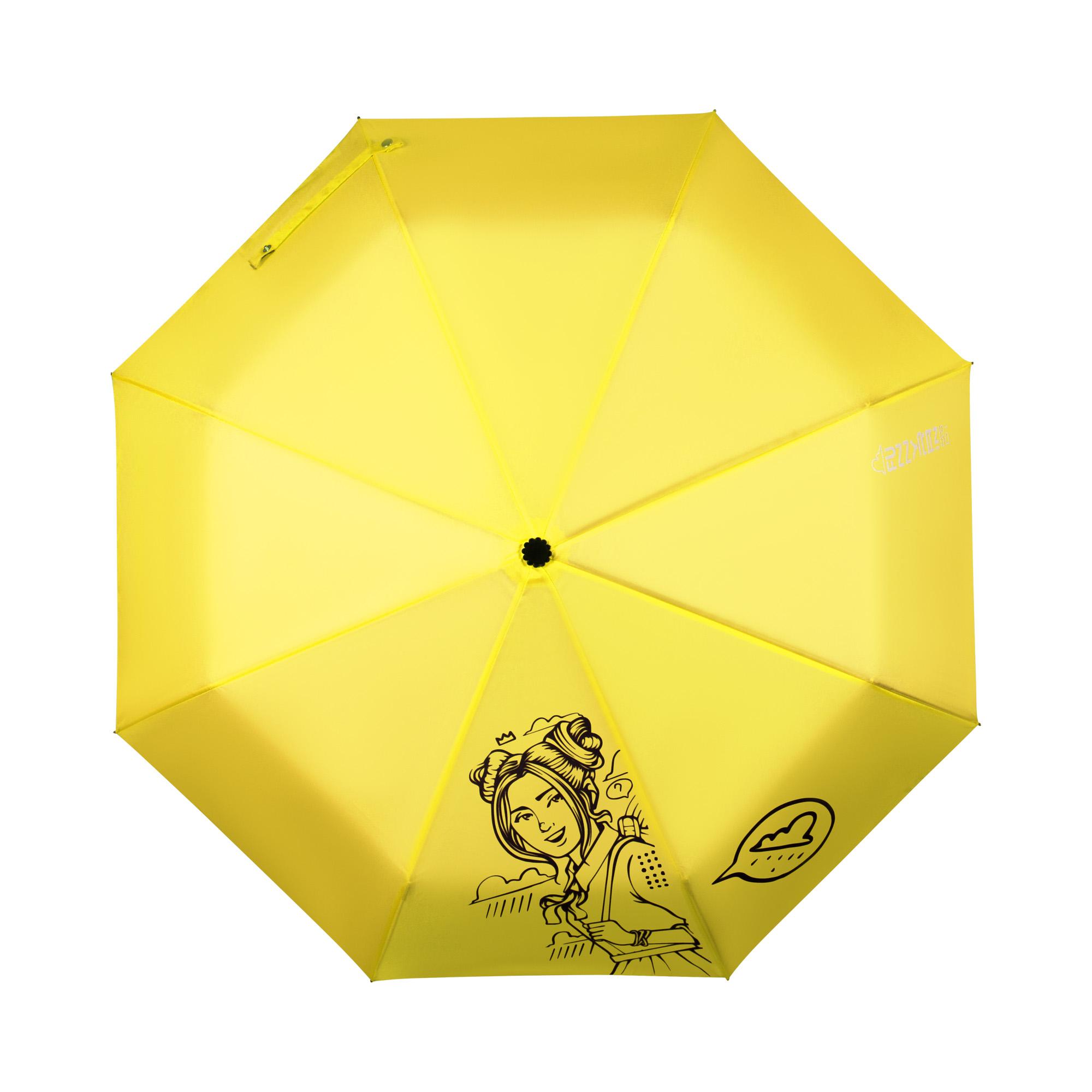 Зонт Желтый megir желтый
