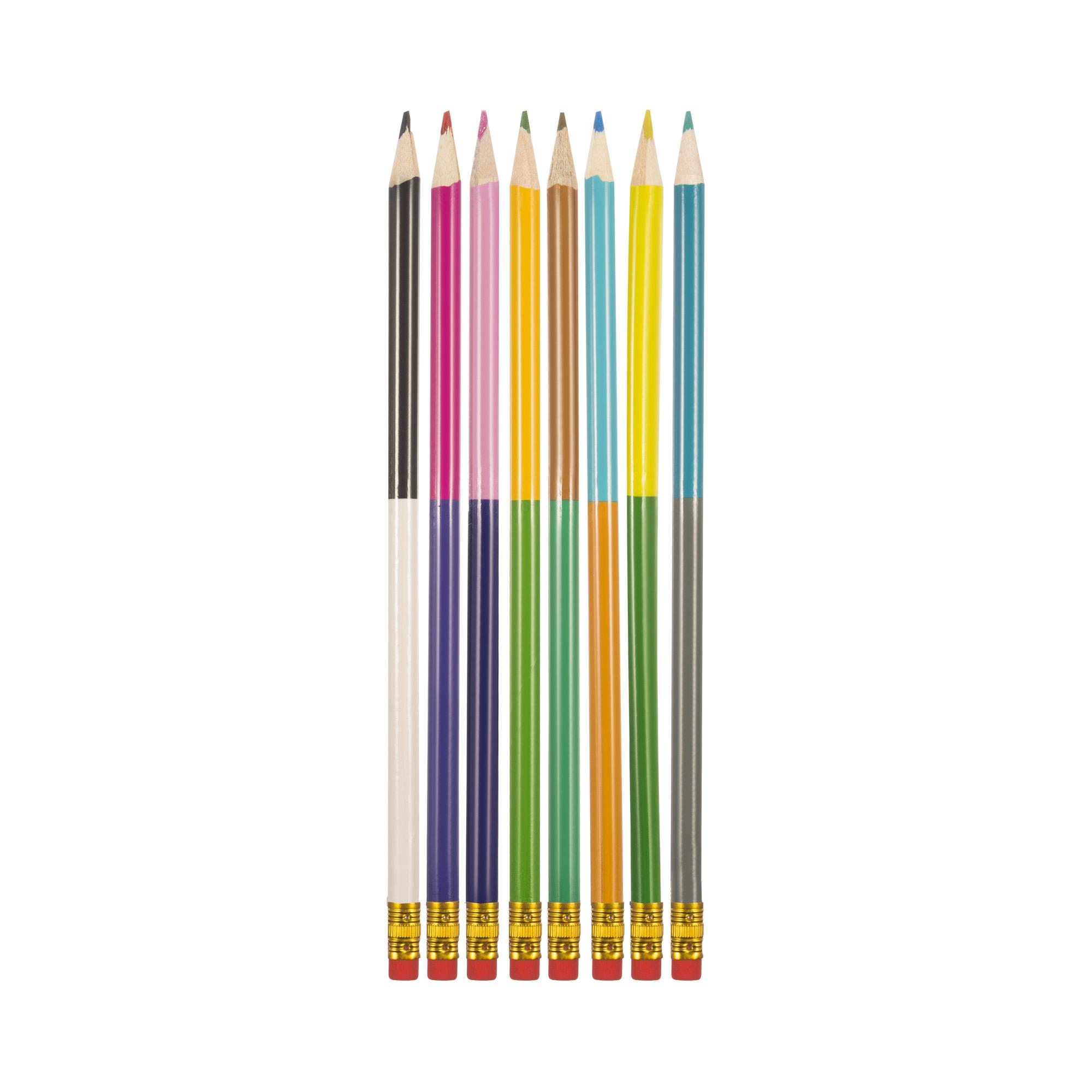 Набор чернографитных карандашей, 8шт набор карандашей чернографитных sivo 4шт нв с резинкой