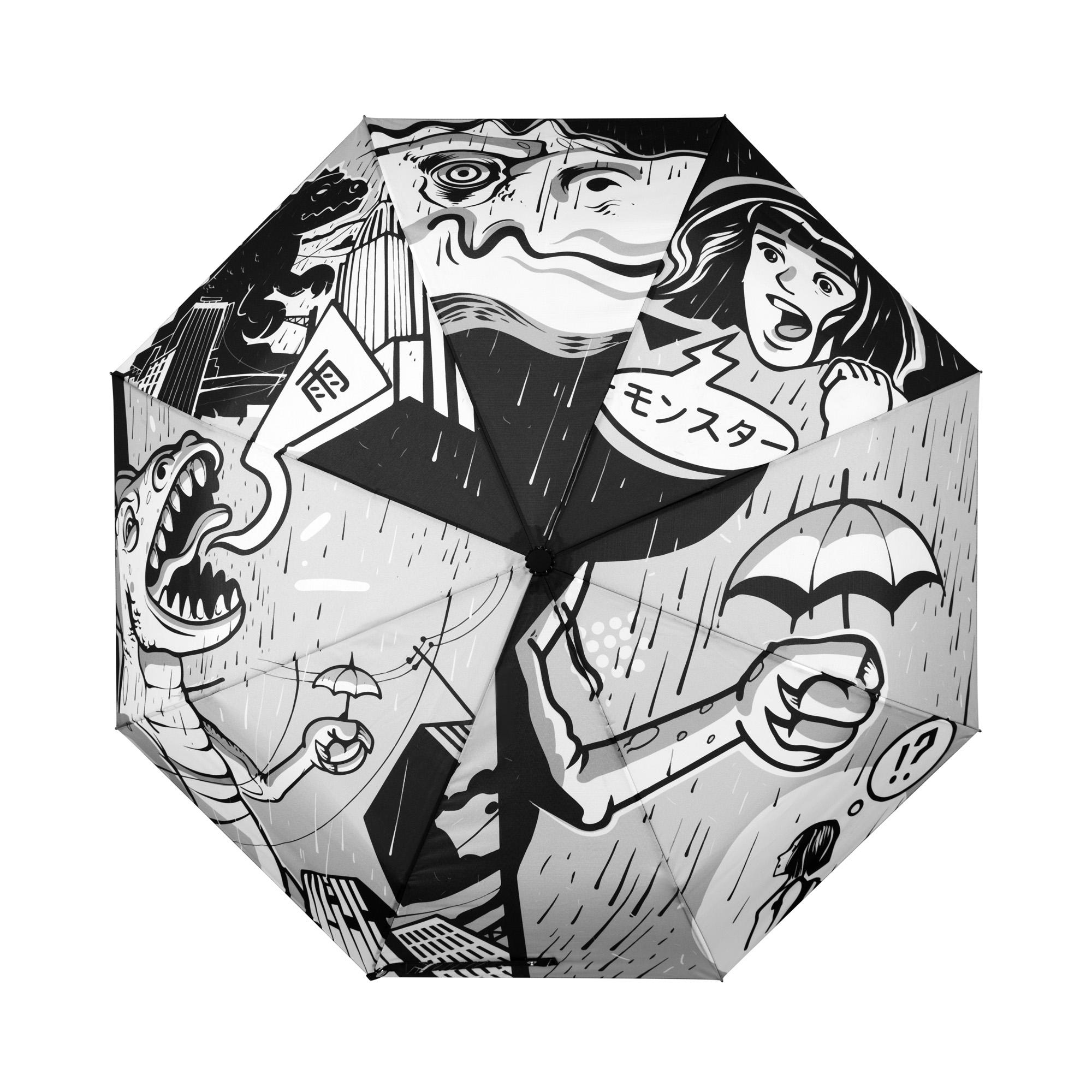 Зонт с Годзиллой зонт eleganzza зонт