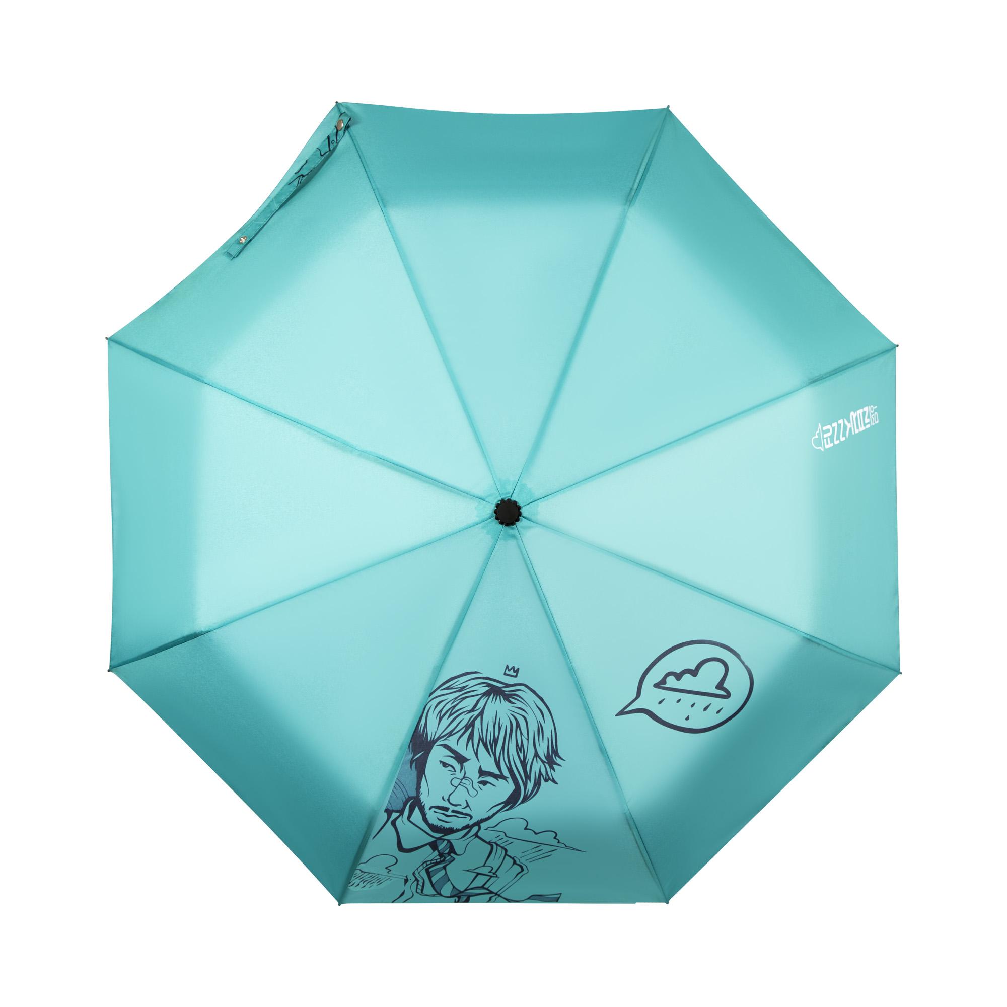 Зонт бирюзовый зонт eleganzza зонт
