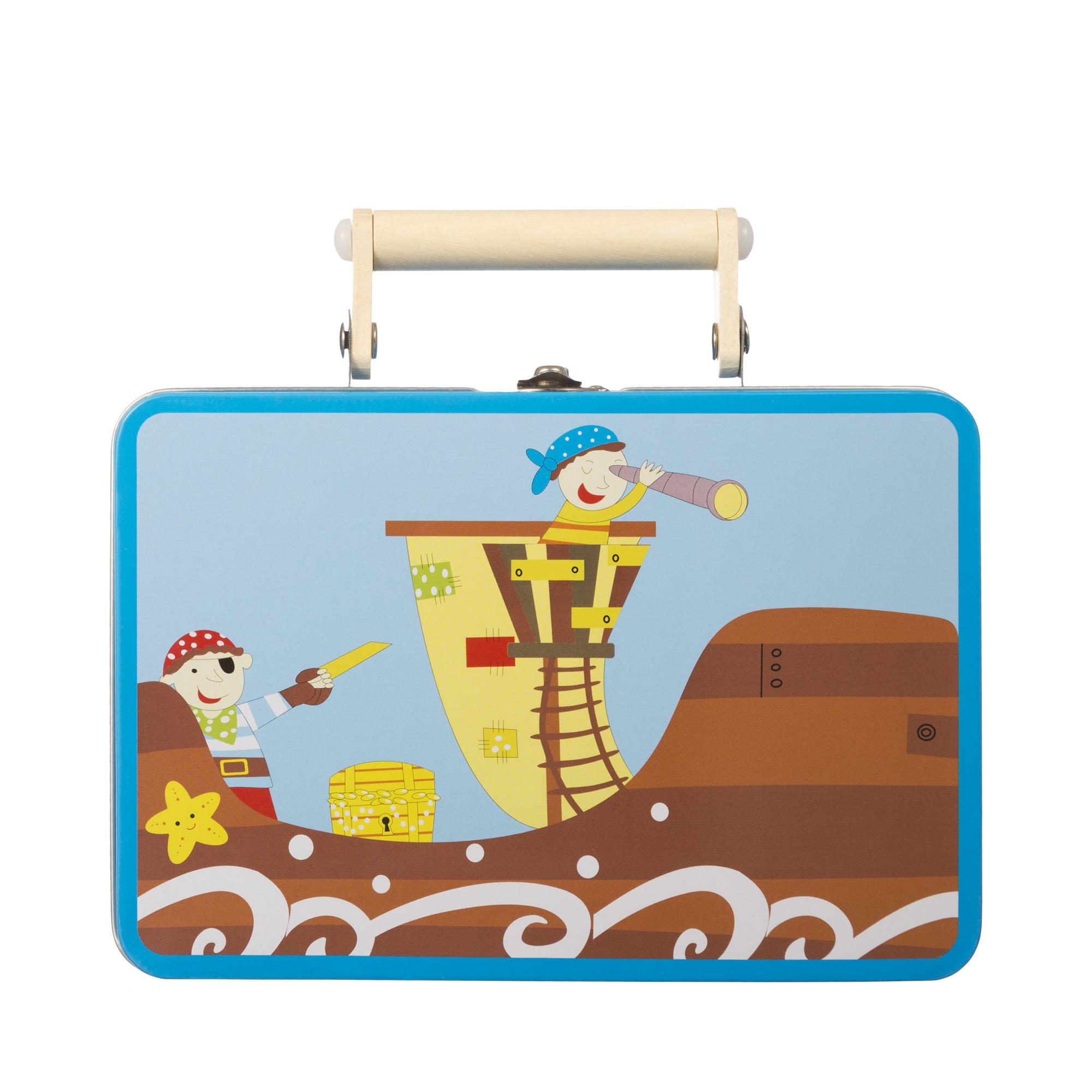 Игровой набор пиратский чемодан головоломки fantastic игровой набор чемодан головоломок