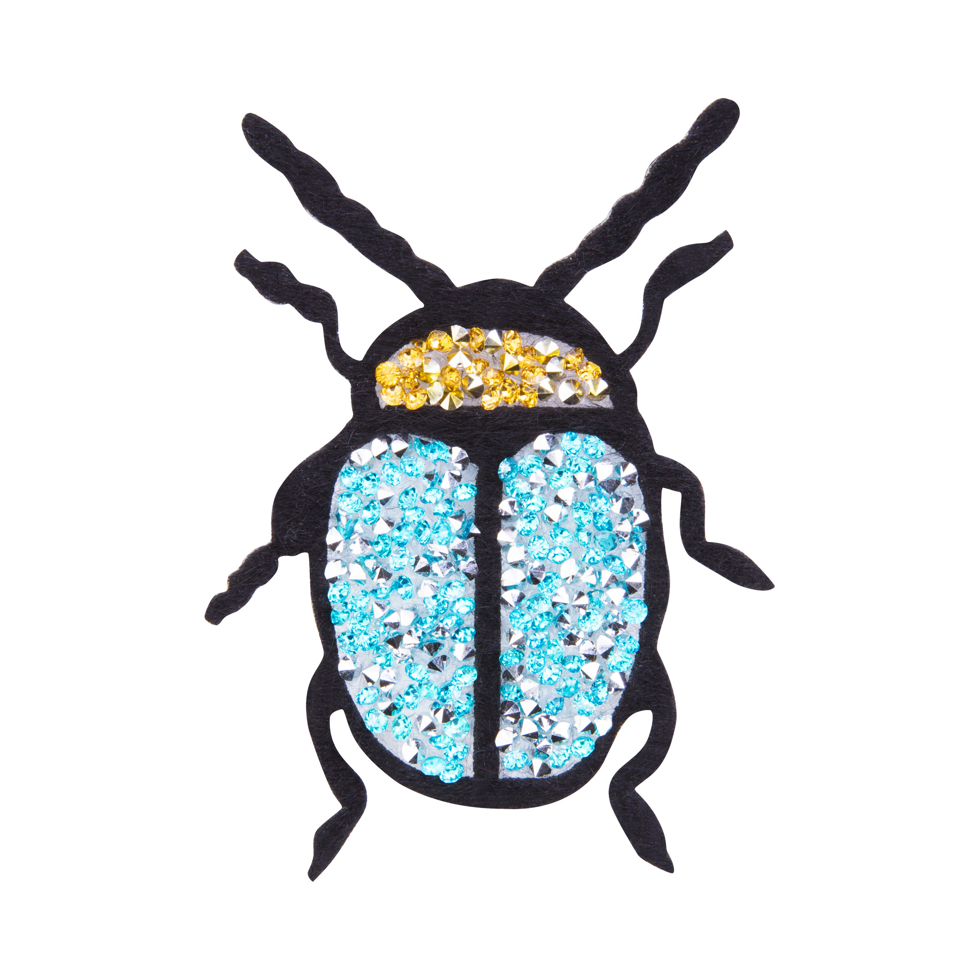 Термонаклейка Голубой жук жук
