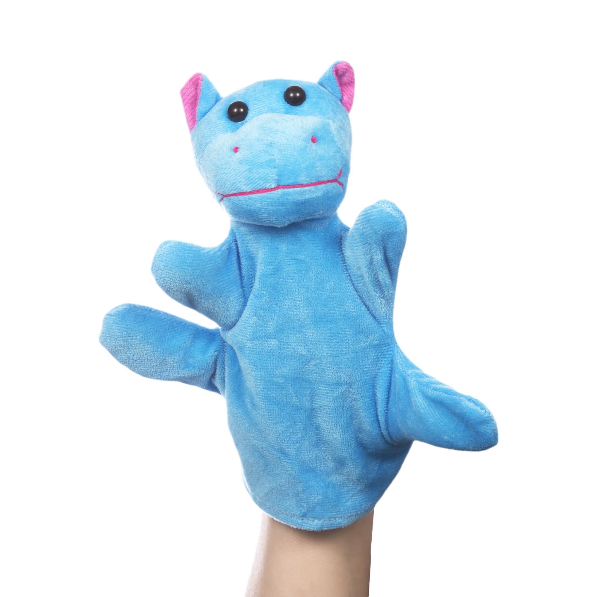 Пальчиковая игрушка бегемот телефон бегемот