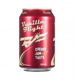 Напиток б/а Vanilla Flight Cherry Jam Flavour 0,33мл